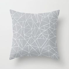 #abstract #abstraction #geometric #triangles #lines #grey #white #projectm