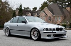 BMW E39 M5 2003 Titanium silver, highly customized - an absolutely beautiful car!
