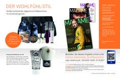 Abowerbung für die Zeitschrift MADAME, Abo-Angebot: Jahres-Abo mit Prämie Beauty-Set, #Werbemittel: 1/1-Abo-Anzeige, Response-Aktivierung über Deeplink, QR-Code und Hotline, I © Montana Medien, Hamburg - Dezember 2013 I Bestellen Sie das #MADAME unter: www.madame.de/praemien, #Direktmarketing, #Print, #Verlage, #CRM, #Abomarketing, #Abo-Werbung, #Aboanzeige, #Dialogmarketing, #MADAME Verlag #MontanaMedien BERATUNG + #AGENTUR, #Abonnement