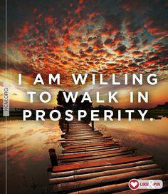 Say this! #prosperity #Godswill