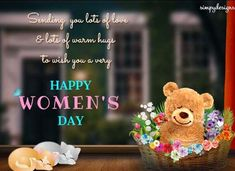 Send this beautiful ecard to all those amazing women in your life. Free online Warm Hugs On Women's Day ecards on International Women's Day International Womens Day Quotes, Online Greeting Cards, Happy Woman Day, Warm Hug, Powerful Women, Ladies Day, Women Empowerment, Birthday Wishes, Amazing Women