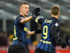 Mauro Icardi e Ivan Perisic Inter - Chievo Verona (14.01.2017)