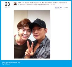 "Lee JongSuk compliments R2B cast mate Rain on his me2day. (Source credit: Lee JongSuk / with_jslee @me2day)    [English translation by 화니]    Rain is forever my hero !! He is on leave..ㅠㅠ Of course I admire ""Joon Sang"" sunbae (Yu Joon Sang) and ""Sung Soo"" hyungnim (Kim Sung Soo), too !!! I'm sure those who haven't seen ""R2B"" yet, will go to the movie this week ^^"