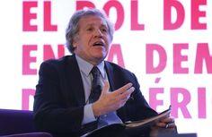 """<p>El secretario general de la Organización de Estados Americanos (OEA), Luis Almagro, """"condenó"""" hoy la """"brutal represión"""" ocurrida, dijo, en las protestas opositoras en Venezuela.</p>"""