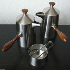 OLD HALL RARE PROTOTYPE CAMPDEN COMPLETE COFFEE SET EARLY HANDLE ROBERT WELCH   eBay