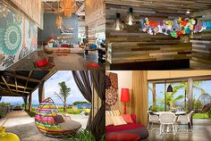 W Hotel in Vieques PR designed by Patricia Urquiola....I really, really, really want to go