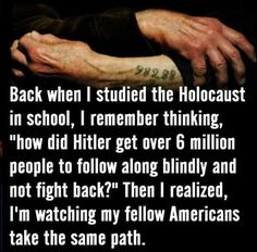 Americans are taking the same path. WAKE UP AMERICA!!!!!!!