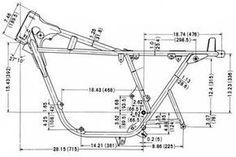 How To Build A Motorcycle Frame From Scratch Mini Motorbike, Motorbike Design, Bobber Motorcycle, Motorcycles, Electric Bike Kits, Diy Go Kart, Bike Sketch, Bike Builder, Cafe Racer Bikes