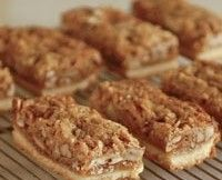Pecan Bars Recipe | These are really good!  I took these to church supper- No Leftovers!