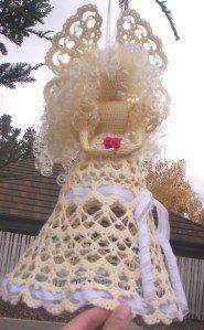 crochet angel - google translate will help