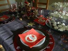 Suite et fin de ma table de Noël