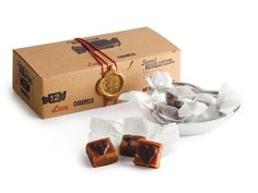 12 Piece Maple Honey LOVE Caramels