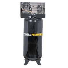 Central Pneumatic 93274 5 Horsepower, 60 Gallon, 165 PSI Two Stage Air Compressor