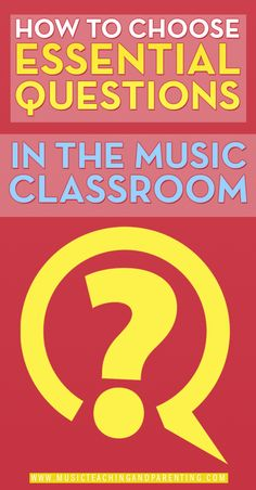 New school year, new music classes, brand new policies for music educators….many confusions! I have been getting many emails asking about essential questions and applications to a music classroom. I think that a blog post can be a good way to start a discussion and reach other teachers in the online world. Let's take a …
