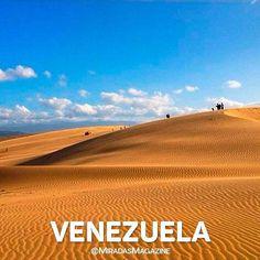 Medanos de Coro estado Falcón. . VENEZUELA  Nuestro País El mejor del mundo! . . Serie % Venezuela. #RevistaMiradas #MiradasMagazine #Miradas #Turismo #Marketing #Mkt #Tecnologia #Actualidad #Tendencias #SocialMedia #Arte #Destinos #Mochima #LosRoques #Canaima #Anzoategui #Lecheria #Post #Vzla #Venezuela Holiday Travel, Places To See, Travel Destinations, To Go, Country Roads, Studio, Instagram, Nature, Holidays