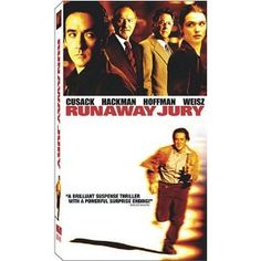 Runaway Jury [VHS]  Cusack ~ Hackman ~ Hoffman ~ Weisz