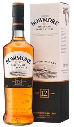 Bowmore 12 Years Old   Bowmore Islay Single Malt Whisky available from Whisky Please.