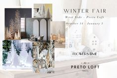 This winter season, we brought the outdoors inside, turning Preto Loft's West Side into our very own Winter Fair. Following up on the success of the Poetic Summer installation, our friends from Flowers Time and Engineered Arts are back again to bring your dreams of a sparkling, snow-topped forest to life.