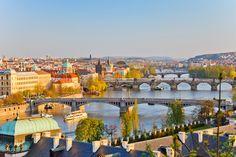 Genießt einen herrlichen Spätsommer in der Goldenen Stadt #Prag !  Übernachtung im Doppelzimmer inklusive Frühstück im freundlichen 3-Sterne #Hotel EA Populus mit den #HRSDeals für  nur 33 Euro!