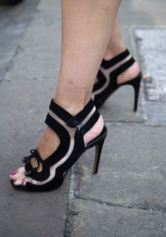 Nicholas Kirkwood cutout heels