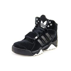 best service acb2d b5dc1 Adidas Originals Streeball 1.5 Basketball Sneaker Shoe - Black White - Mens  - 8 Shoes