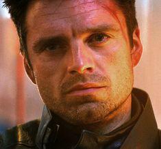 Sebastian Stan, Bucky Barnes Captain America, Captain America Movie, Winter Soldier Movie, Bucky Barnes Imagines, Siper Man, Scene Couples, James Barnes, Les Gifs