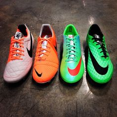 New colors of #Nike #Mercurial & #Hypervenom (Neo Lime),