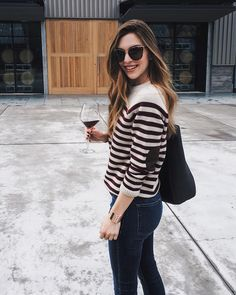 Casual outfit for wine country