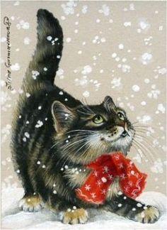 гламурный котик