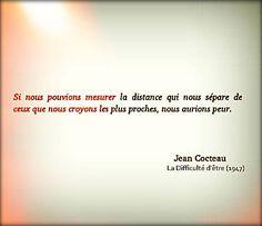 Jean Cocteau (La difficulté d'être-1947)