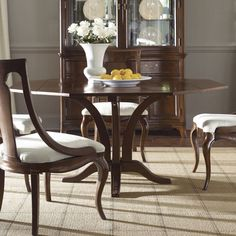 Cherry Grove New Generation line promises the same timeless quality and appeal with a full line of dining room, bedroom, home office, entertainment and occasional furniture. The line incorporates many elegant curves and graceful movement, and is updated with today's finishes, functionality and...