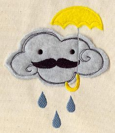 Embroidery Designs at Urban Threads - Senor Cloud