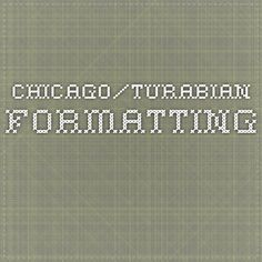 Font for turabian style