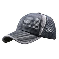 756fee9c406 Bestpriceam Men Women Sun Hat Quickdry Ventilation Baseball Cap Gray     Continue to the product