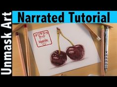 How to Color Cherries | Narrated Tutorial - YouTube