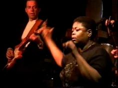 "Blues legend Big Time Sarah performs ""Sweet Home Chicago"" at the club B.L.U.E.S. et cetera in Chicago, Illinois with: Gary Clyman - Bass; Joel Erenberg - Drums; Mike Skyer - Guitar"