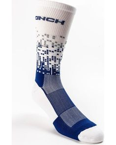 ba4dccd55 Cinch Men s Geo Pattern Performance Crew Socks - MXY6006024  fashion   clothing  shoes  accessories  mensclothing  socks (ebay link)