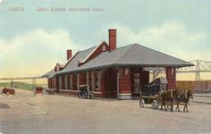 Prototypical finescale model American Farm Wagons built with the same materials as they were over 100 years ago, including nuts and bolts. Horse Drawn Wagon, Union Station, Post Card, A Team, Commercial, Horses, Type, Park, City