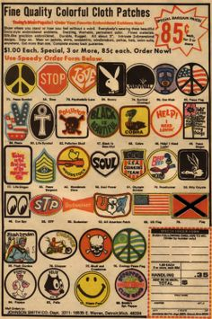 70s patches