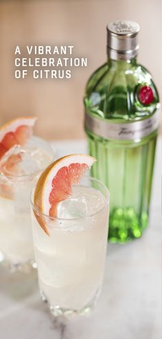 Spring Cocktails, Summer Drinks, Cocktail Drinks, Cocktail Recipes, Collins Recipe, Alcohol Drink Recipes, Mixed Drinks, Healthy Drinks, Crockpot Recipes