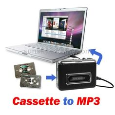 Tape to PC Super USB Cassette to MP3 Converter Capture Audio Music Player $20