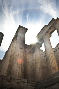 Het Acropolis in Athene