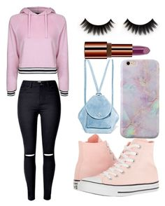 """Untitled #25"" by alison8446 on Polyvore featuring Topshop, Converse, MANU Atelier and Teeez"