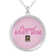 Proud Army Mom Jewelry