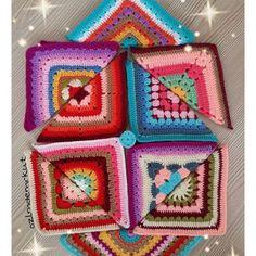 ozlmdemrkut crochet colorful squares