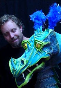 Puppeteers of America - Dragon puppet