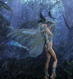 Fairy in the rain.gif