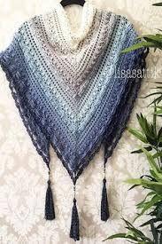 Kuvahaun tulos haulle bufanda triangular a crochet ravelry