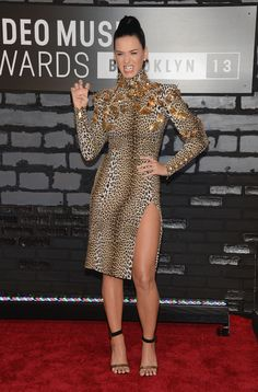 Katy Perry's 100 Sexiest Photos: The 'Dark Horse' Singer's Hottest Moments (PICS) 2013 MTV Video Music Awards - Arrivals (Photo by Jamie McCarthy/Getty Images for MTV)