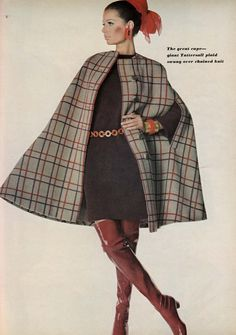 Trigere,  Photographed by Penn,  Vogue US - September 1 1967